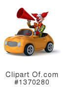 Funky Clown Clipart #1370280 by Julos