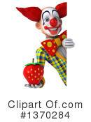 Funky Clown Clipart #1370284 by Julos