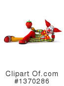Funky Clown Clipart #1370286 by Julos