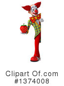 Funky Clown Clipart #1374008 by Julos