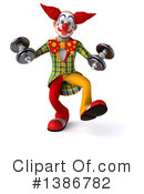 Funky Clown Clipart #1386782 by Julos