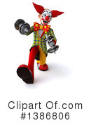 Funky Clown Clipart #1386806 by Julos