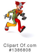 Funky Clown Clipart #1386808 by Julos