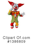 Funky Clown Clipart #1386809 by Julos