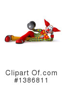 Funky Clown Clipart #1386811 by Julos