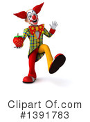 Funky Clown Clipart #1391783 by Julos