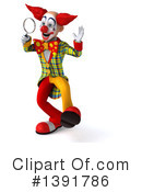Funky Clown Clipart #1391786 by Julos