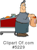Royalty-Free (RF) Funny Clipart Illustration #5229