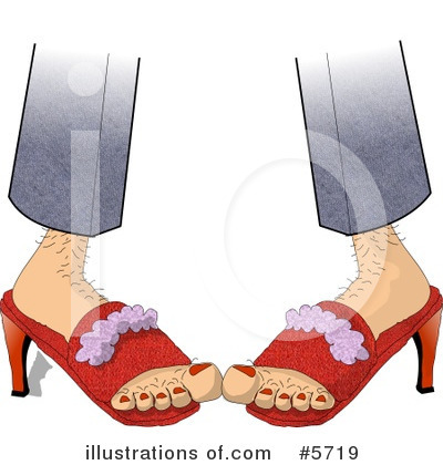 High Heel Clipart #5719 by djart