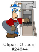 Furnace Clipart #24644
