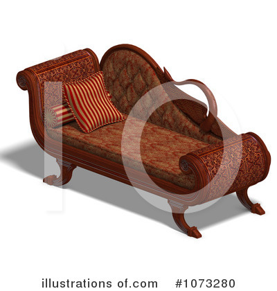 Royalty-Free (RF) Furniture Clipart Illustration by Ralf61 - Stock Sample #1073280
