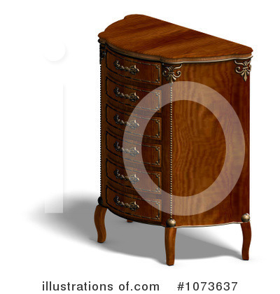 Furniture Clipart #1073637 by Ralf61