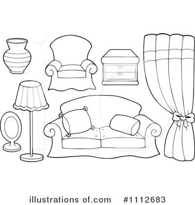Furniture Clipart 1112683 Illustration by visekart