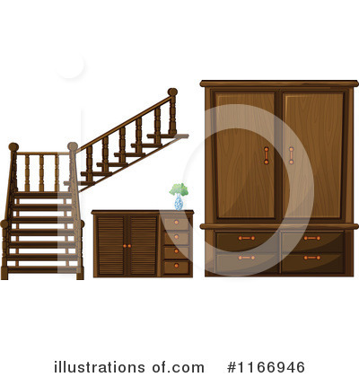 Cabinet Clipart #1166946 by Graphics RF