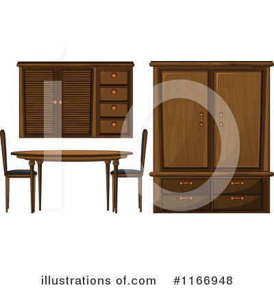 Cabinet Clipart #1166948 by Graphics RF