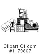 Royalty-Free (RF) furniture Clipart Illustration #1179807