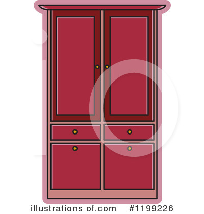 Royalty-Free (RF) Furniture Clipart Illustration by Lal Perera - Stock Sample #1199226