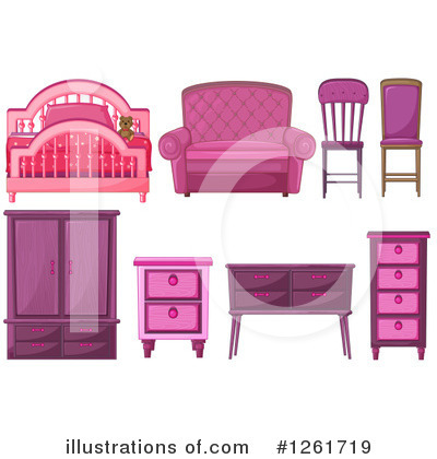 Furniture Clipart #1261719 by Graphics RF