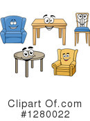 Furniture Clipart #1280022 by Vector Tradition SM