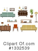 Furniture Clipart #1332539 by Vector Tradition SM