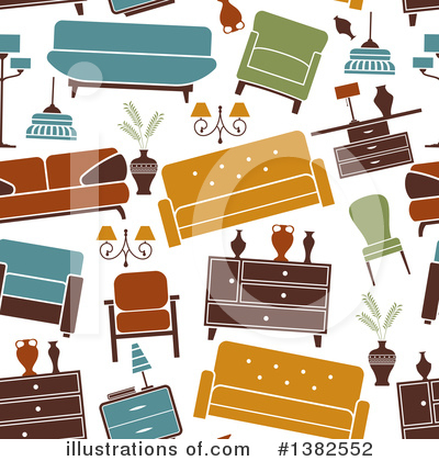 Furniture Clipart #1382552 by Vector Tradition SM