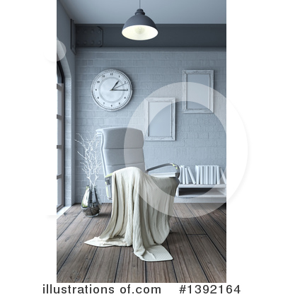 Interior Clipart #1392164 by KJ Pargeter