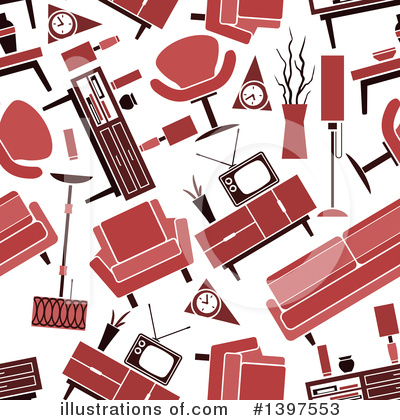 Furniture Clipart #1397553 by Vector Tradition SM