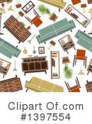 Furniture Clipart #1397554 by Vector Tradition SM
