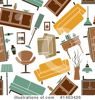 Furniture Clipart #1403426 by Vector Tradition SM