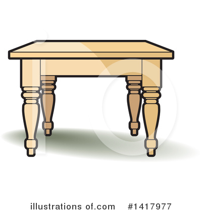Furniture Clipart #1417977 by Lal Perera
