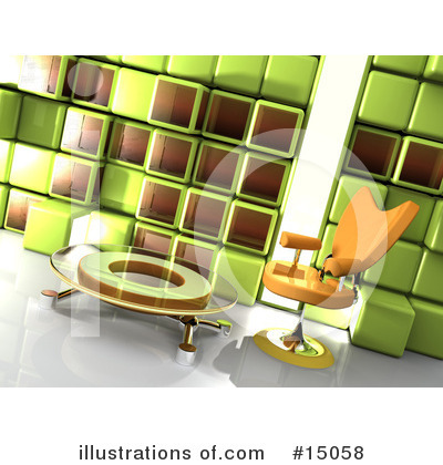 Furniture Clipart #15058 by 3poD