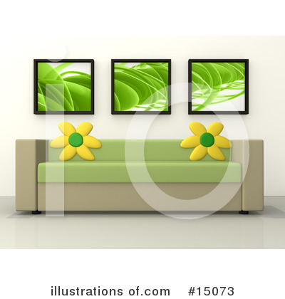 Furniture Clipart #15073 by 3poD