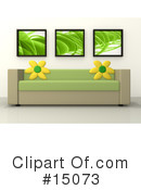 Royalty-Free (RF) Furniture Clipart Illustration #15073