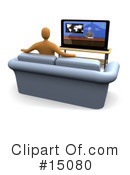 Royalty-Free (RF) Furniture Clipart Illustration #15080