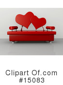 Royalty-Free (RF) Furniture Clipart Illustration #15083