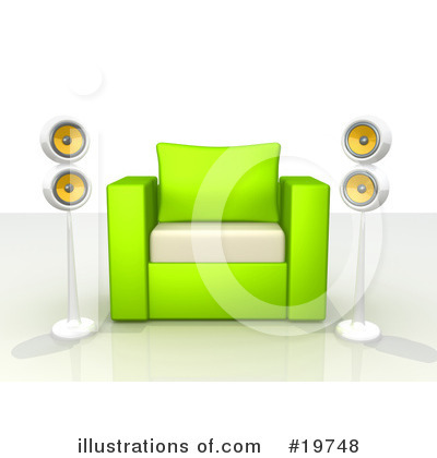 Furniture Clipart #19748 by 3poD