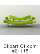 Furniture Clipart #21115 by 3poD