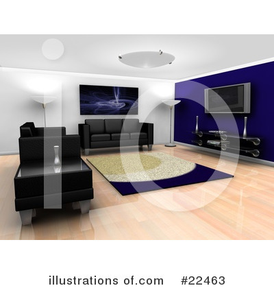 Interior Clipart #22463 by KJ Pargeter