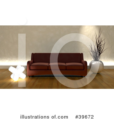 Furniture Clipart #39672 by KJ Pargeter