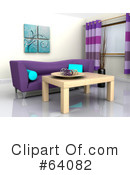 Royalty-Free (RF) furniture Clipart Illustration #64082