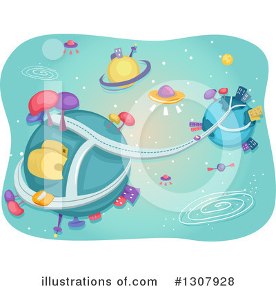 Ufo Clipart #1307928 by BNP Design Studio