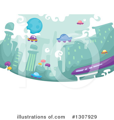 Ufo Clipart #1307929 by BNP Design Studio