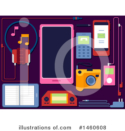 Gadgets Clipart #1460608 by BNP Design Studio