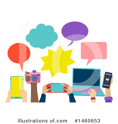 Royalty-Free (RF) Gadgets Clipart Illustration by BNP Design Studio - Stock Sample #1460653