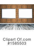 Gallery Clipart #1585503 by KJ Pargeter