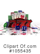 Gambling Clipart #1055435 by stockillustrations