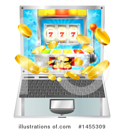 Laptop Clipart #1455309 by AtStockIllustration