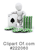 Royalty-Free (RF) gambling Clipart Illustration #222060