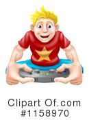 Gamer Clipart #1158970 by AtStockIllustration