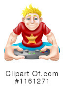 Gamer Clipart #1161271 by AtStockIllustration
